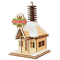 Old World Christmas-Ginger Cottages - Northern Lights Electric Co.