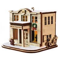 Old World Christmas-Ginger Cottages - Polar Precinct #25