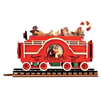 Ginger Cottages - Santa's Flat Car