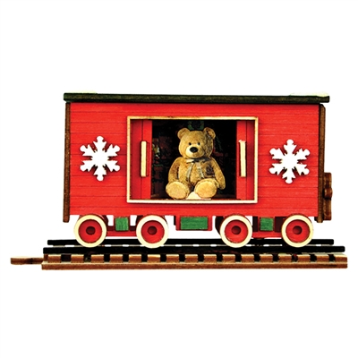 Ginger Cottages - Santa's Box Car
