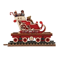 Ginger Cottages - North Pole Express Sleigh Car