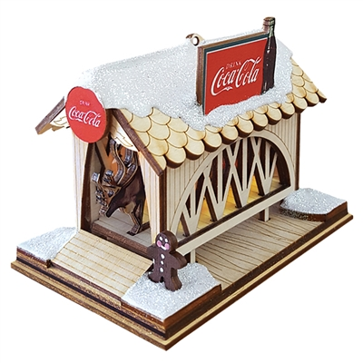 Ginger Cottages - Coca-Cola - Covered Bridge