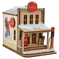 Old World Christmas-Ginger Cottages - Coca-Cola - Country Store