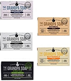 GrandPa's Soap 5-Pack Sampler