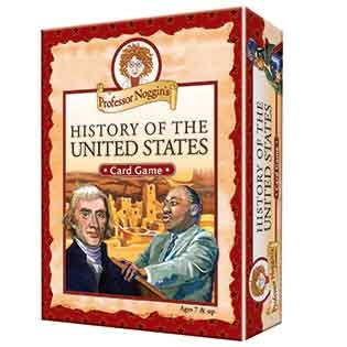 Professor Noggin's History of the United States Card Game