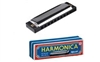 Toysmith Metal Harmonica (4 1/4 x 1 1/4 inches)