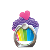 Rainbow Cupcake Phone Ring