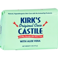 Kirk's Original Coco Castile Soap with Aloe Vera