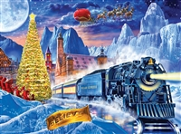Puzzle - The Polar Express Glow in the Dark puzzle