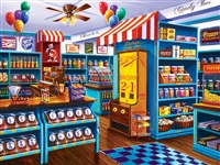 Puzzle - Shopkeepers Stephanie's Candy Store 750 Piece Jigsaw Puzzle