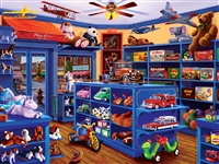Puzzle - Shopkeepers Mary Lees's Toy Store 750 Piece Jigsaw Puzzle