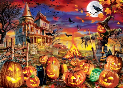 Puzzle - Halloween Glow in the Dark Puzzle