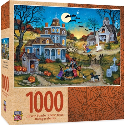 Puzzle - Halloween Three Little Witches