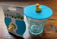 "OnTopz - 4"" Drink Topper - Rubber Duck"
