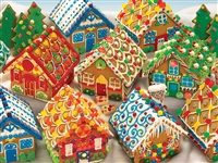 Puzzle - Gingerbread Houses