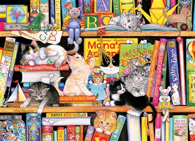 Puzzle - Storytime Kittens