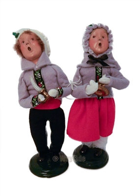 Byers' Choice Secondary Market Children holding Candle (1998)