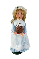 2002 Byers' Choice Secondary Market Girl with Cake