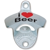 StarrX Bottle Opener - I Heart Beer