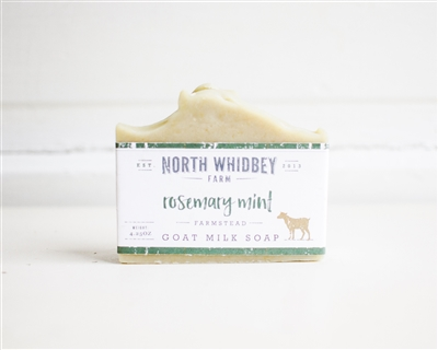 Rosemary and Mint Goat Milk Soap