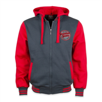 Jacket Golden Gate National Parks-Gray/Red Sleeves
