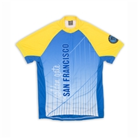 Biking Shirt - Golden Gate Bridge