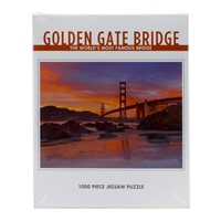 Puzzle - Golden Gate Bridge Sunset