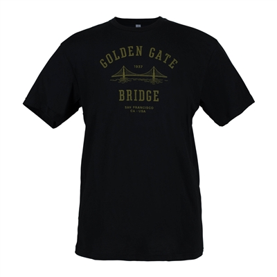 T-Shirt - Vintage Golden Gate Bridge