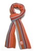 Scarf - Golden Gate Bridge Vertical Stripes