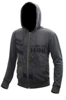 Hoodie - Golden Gate Bridge Tower