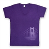 T-Shirt - Womens Golden Gate Bridge in the Mist
