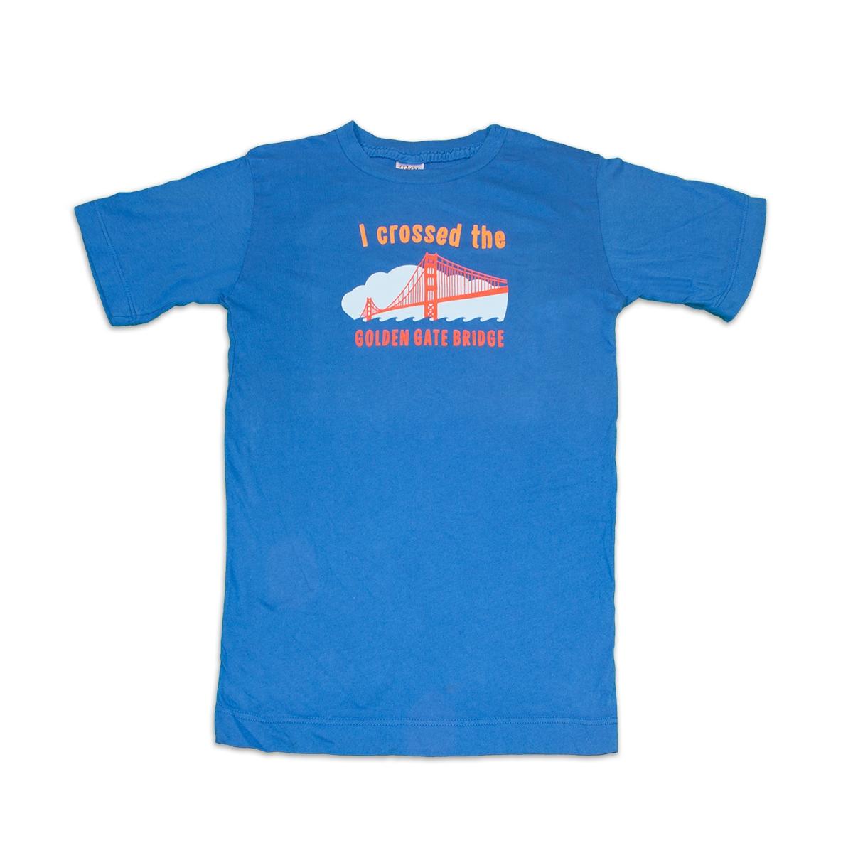 T Shirt Kids Quot I Crossed The Golden Gate Bridge Quot