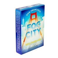 Playing Cards - San Francisco Fog City