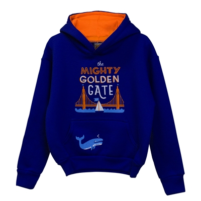 Hoodie-Kids Mighty Golden Gate