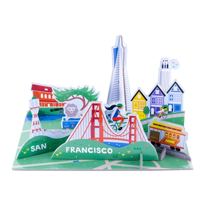Puzzle - Pop up San Francisco