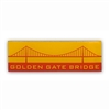 Pin - Golden Gate Bridge Wide Profile
