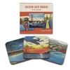 Coaster Set - Golden Gate Bridge
