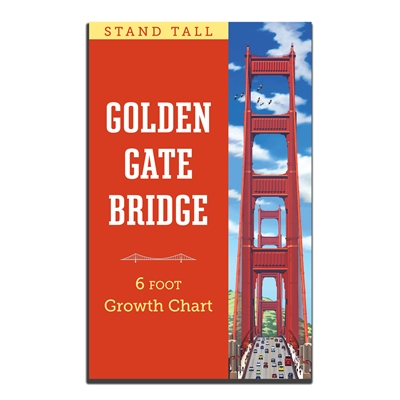 Growth Chart - Golden Gate Bridge