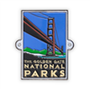 Hiking Medallion-Golden Gate Bridge