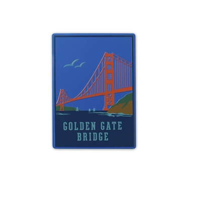 Magnet - Golden Gate Bridge and Birds