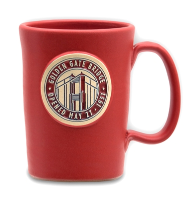 Mug - Golden Gate Bridge - Red