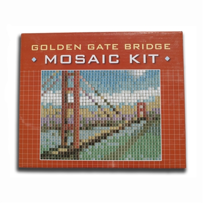 Mosaic Kit - Golden Gate Bridge