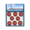 Magnet Set - Golden Gate Bridge Rivets