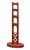 Model - Golden Gate Bridge Tower - Orange