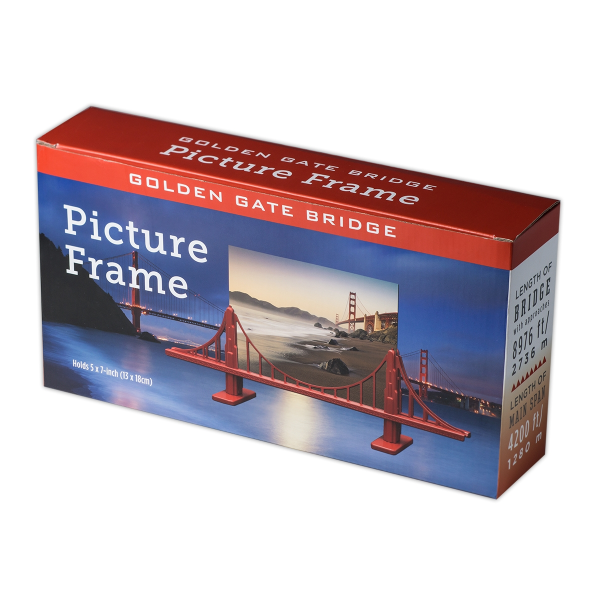 Picture Stand Golden Gate Bridge Towers Digital Photo Frame 7 Inch Alternative Views