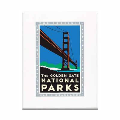 Unframed Poster - Golden Gate National Parks