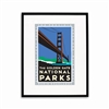 Framed Poster - Golden Gate National parks