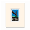 Matted Print - Golden Gate National Parks