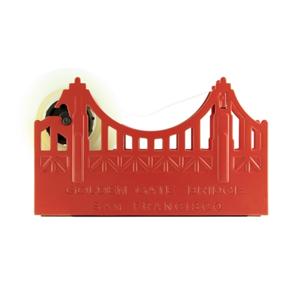 Tape Dispenser - Golden Gate Bridge