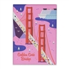 golden gate bridge matte magnet